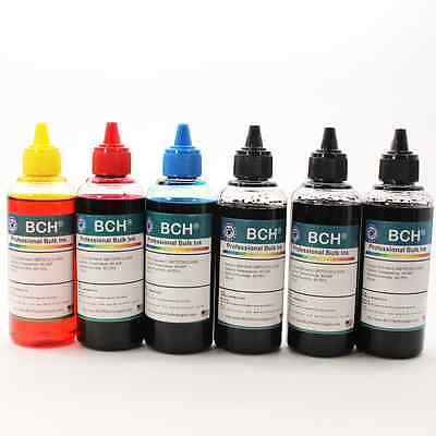 BCH Standard Bulk 600 ml Refill Ink for HP, Canon, Epson, Lexmark & Paintbrush 3