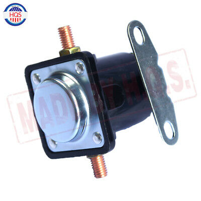 Black 12V STARTER SOLENOID RELAY SW-3 Ford Jeep Lincoln Mercury 1958-1991 3
