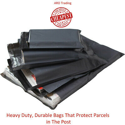 Cheap Mailing Bags Grey All Sizes Poly-Postal Cheapest On EBay 3
