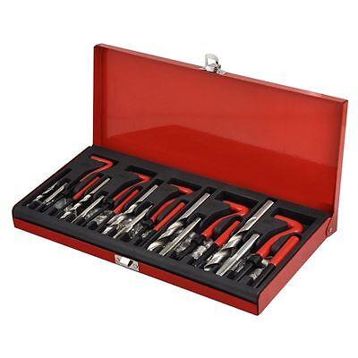 Kit Reparacion De Rosca Helicoil M5, M6, M8, M10 M12 131 Piezas Reparador -1234 6