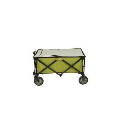 Chariot à glacière à roulettes XL sac de réfrigération chariot de plage pliable 11