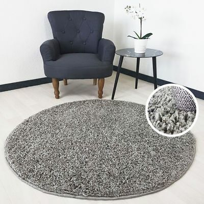Small X Large Size Grey Thick Plain Soft Shaggy Non Shed Rug Modern Carpet Rugs 7
