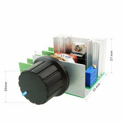 A22. Regolatore di velocità motore tensione regolabile PWM 2000w 50v-220v dimmer 6