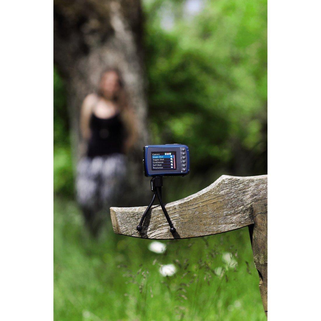 Mini Tripode Flexible Digipro Camara Digital + Soporte Movil Para Smartphone