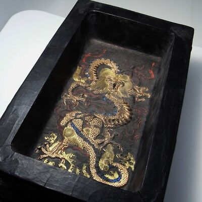 IMPERIAL Chinese Ink Block Cake Black Calligraphy Antique Chinese Ming Qing Dy 8