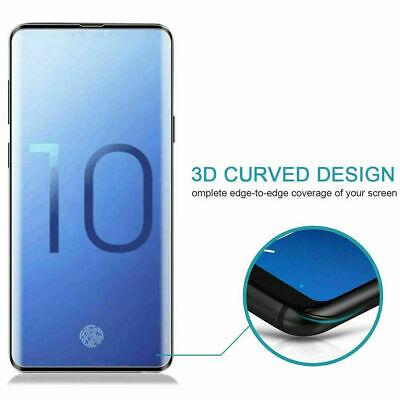5D Tempered Glass Screen Protector For Samsung Galaxy S7 S8 S9 S10e S10 Plus Yc 6