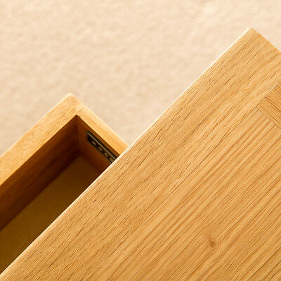 London Oak Small Hall Table / Telephone Table / Solid Wood Console / Light Oak 6