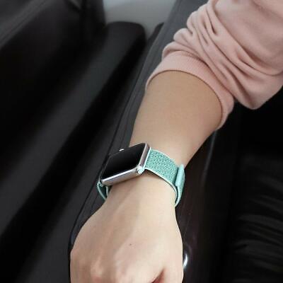 Cinturino per Apple Watch 42MM 44MM Morbido Nylon Sport Loop 10
