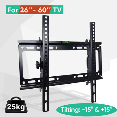 TV WALL MOUNT BRACKET LCD LED Plasma Flat Slim 32 40 42 47 50 52 55 60 65 70 AU 6