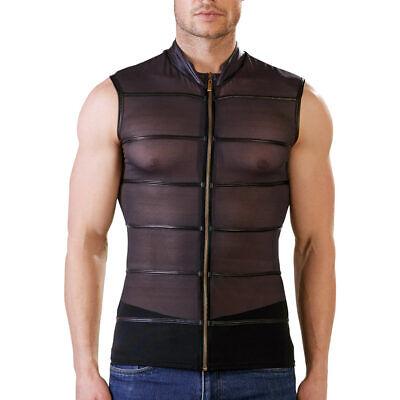 """Herren Shirt T-Shirt M L XL Powernet Stehkragen Zip Matt Reißverschluss """"Hector"""" 5"""