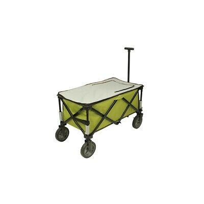 Chariot à glacière à roulettes XL sac de réfrigération chariot de plage pliable 7