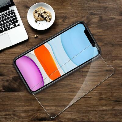 vitre verre trempe film de protection iPhone 11/11 Pro Max/XS/XR/X 8 7 6 LOT/5 3