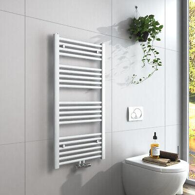 Heizkorper Handtuchhalter Weiss Handtuchwarmer Badezimmer Heizung Mittelanschluss Eur 56 99 Picclick De