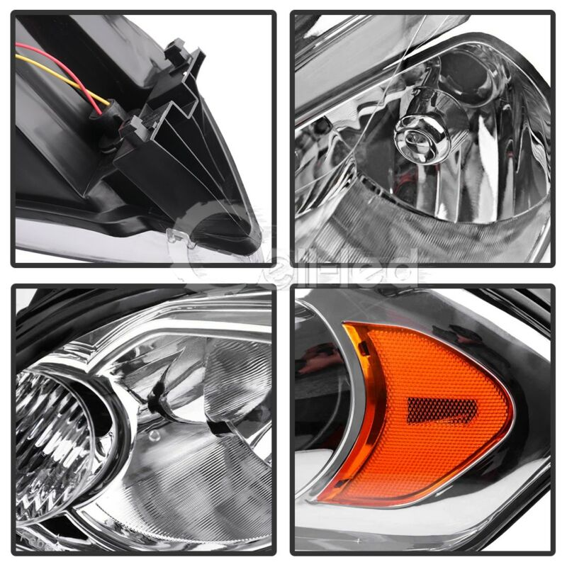For 2009 Chevy Impala 06 07 Monte Carlo Left Right Headlights Embly Pair 7 Of 8