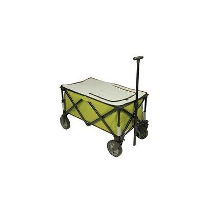 Chariot à glacière à roulettes XL sac de réfrigération chariot de plage pliable 8