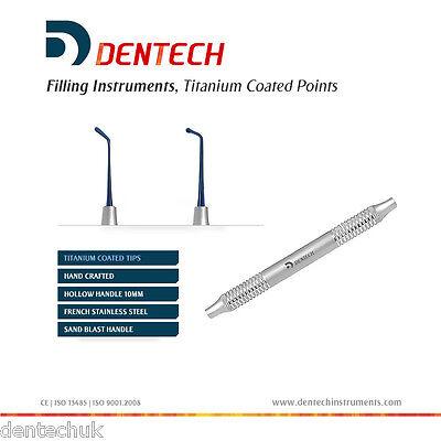 Remplissage PLASTIQUE Amalgame Instruments Dentaires Composite Titane Revêtement