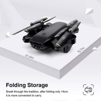Cooligg S169 Drone Selfie WIFI FPV Dual HD Camera Foldable RC Quadcopter Toy 2