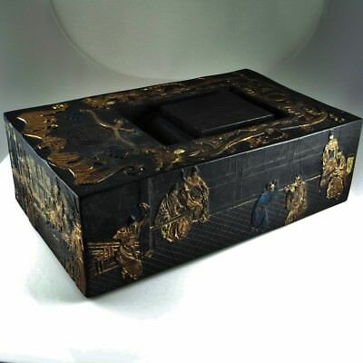IMPERIAL Chinese Ink Block Cake Black Calligraphy Antique Chinese Ming Qing Dy 7