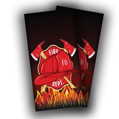 HEMET CA CALF CAL FIRE DEPT HFD INDIAN MOTIF CROSS AXE LANCE FIREFIGHTING