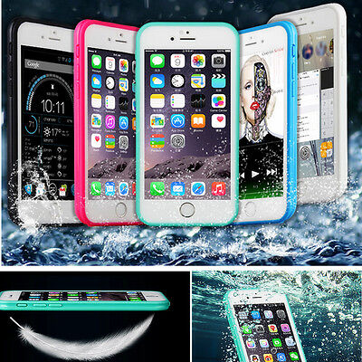 Waterproof Shockproof Dirt Proof TPU Case Cover For iPhone XS X 6s 6 7 8 Plus SE 8