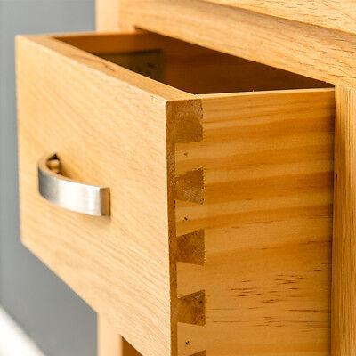 London Oak Small Hall Table / Telephone Table / Solid Wood Console / Light Oak 9