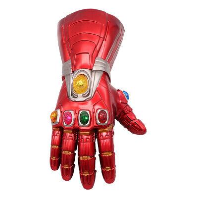 Iron Man Infinity Gauntlet Nano LED Gloves Thanos Avengers 4 Endgame Toys Aults 5
