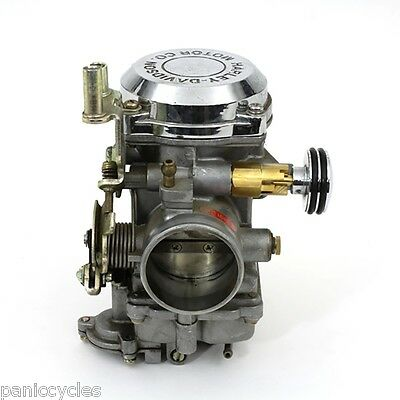 DOMED KEIHIN CV Carburetor Enricher Stepped Harley Cv Carbs Fl Fx Fxd 93&Up
