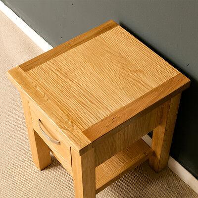 London oak side table light oak lamp table solid wood small 2 of 7 london oak side table light oak lamp table solid wood small table new aloadofball Image collections