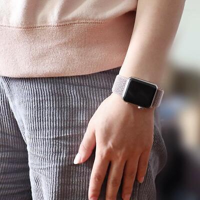 Cinturino per Apple Watch 42MM 44MM Morbido Nylon Sport Loop 9