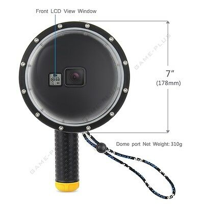 Dome Port Underwater Diving Camera Lens Cover for GoPro Hero 5 6 7 Black Camera 3