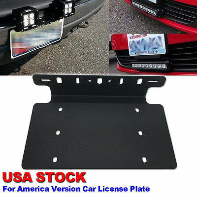 For ford truck car 126w led light bar usa front license plate mount 3 of 9 for ford truck car 126w led light bar usa front license plate mount bracket mozeypictures Gallery