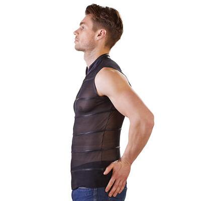 """Herren Shirt T-Shirt M L XL Powernet Stehkragen Zip Matt Reißverschluss """"Hector"""" 6"""