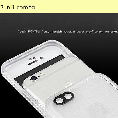 Hybrid Rugged Rubber TPU Shockproof Waterproof Hard Case Cover Fr iPhone 5s 5 SE 9
