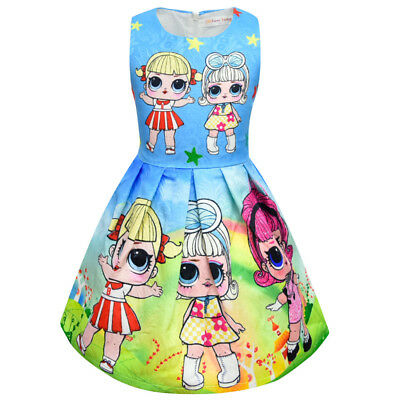 lol surprise dolls Game Girls Dresses Skirts Fancy dress up party gifts 11