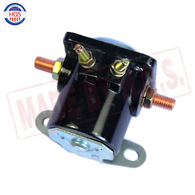 Black 12V STARTER SOLENOID RELAY SW-3 Ford Jeep Lincoln Mercury 1958-1991 7