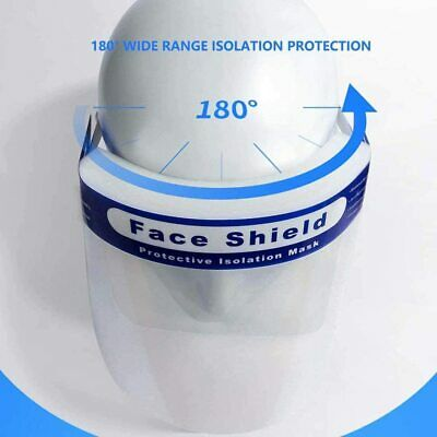 Reusable Face Shield Anti-dust, Anti-droplets, Anti-fog, Protection - multi pack 7