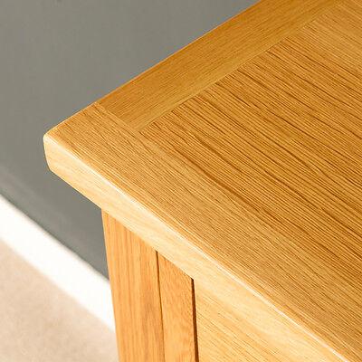 London Oak Small Hall Table / Telephone Table / Solid Wood Console / Light Oak 4