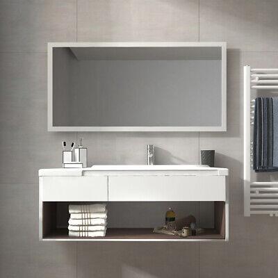 BADSPIEGEL LED BAD Spiegel mit Badezimmerspiegel Beleuchtung ...