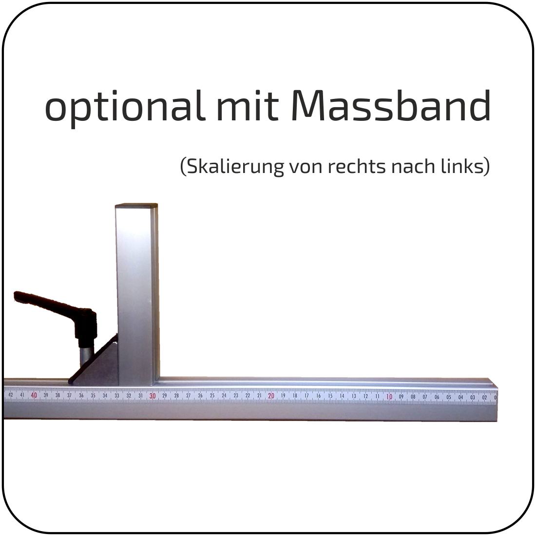 Queranschlag - passend zur Bosch PPS 7 S  /  Bosch PTS 10 - NEUWARE