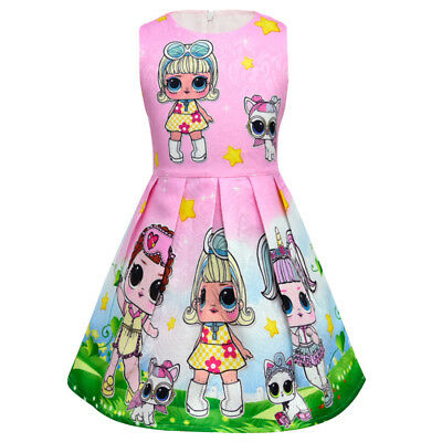 lol surprise dolls Game Girls Dresses Skirts Fancy dress up party gifts 2