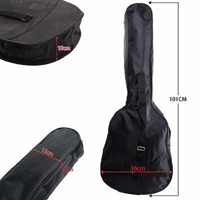 "38"" 3/4 Size Acoustic and Classical Guitar Carrying Carry Case Bag Holder Sleeve"