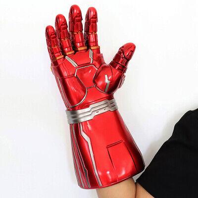 Iron Man Infinity Gauntlet Nano LED Gloves Thanos Avengers 4 Endgame Toys Aults 2