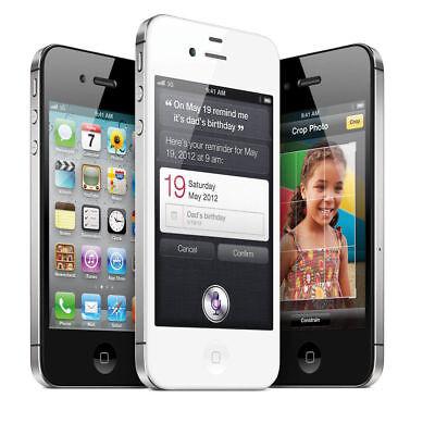Apple iPhone 4S Mobile Phone 8GB 16GB 32GB Sim Free Factory Unlocked Smartphone 9