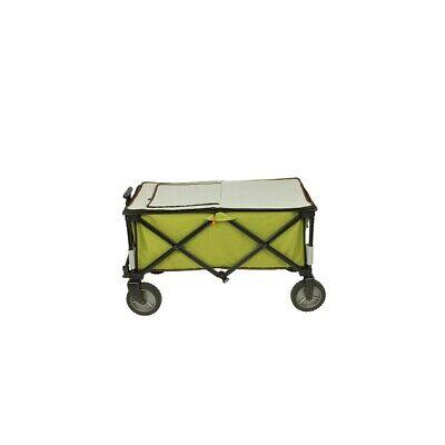 Chariot à glacière à roulettes XL sac de réfrigération chariot de plage pliable 5