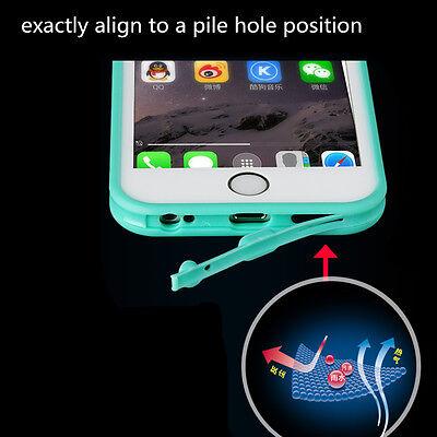 Hybrid Rugged Rubber TPU Shockproof Waterproof Hard Case Cover Fr iPhone 5s 5 SE 4