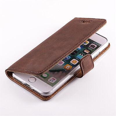 Luxus-accessoires Premium Echtes Ledertasche Schutzhülle Tpu Wallet Flip Case Nubuk Taschen & Schutzhüllen Farbe Blau