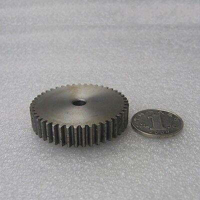 1 Mod 12T-150T Spur Gear Motor Gear 45# Steel High Precision Thickness 10mm Qty1