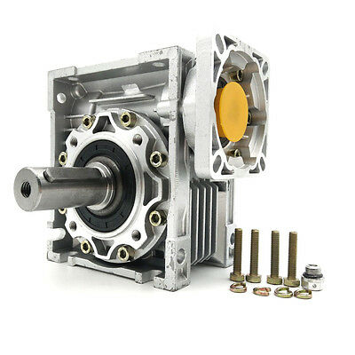 NMRV050 Worm Gearbox Geared Ratio 10:1 Speed Reducer for Stepper Motor 2