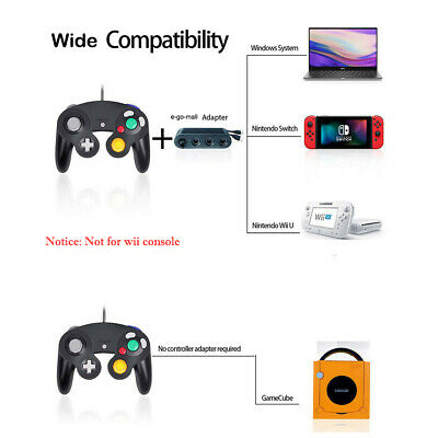 2Pack Wired NGC Controller Gamepad for Nintendo GameCube & Wii U Console Switch 8