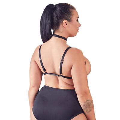 "Plus Size Brust-Harness L XL 2XL 3XL Damen BH Bondage Fetisch Riemen ""Annabelle"" 4"